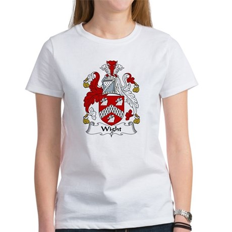 Wight Family Crest Women's T-Shirt