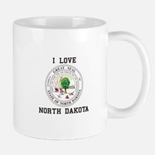 North Dakota State Seal Mugs
