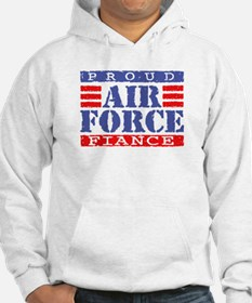 Proud Air Force Fiance Hoodie