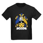 Wiggett Family Crest Kids Dark T-Shirt