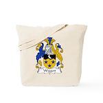 Wiggett Family Crest Tote Bag