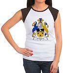 Wiggett Family Crest Women's Cap Sleeve T-Shirt