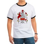 Wicks Family Crest Ringer T