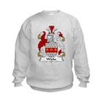Wicks Family Crest Kids Sweatshirt