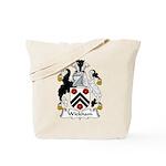 Wickham Family Crest Tote Bag