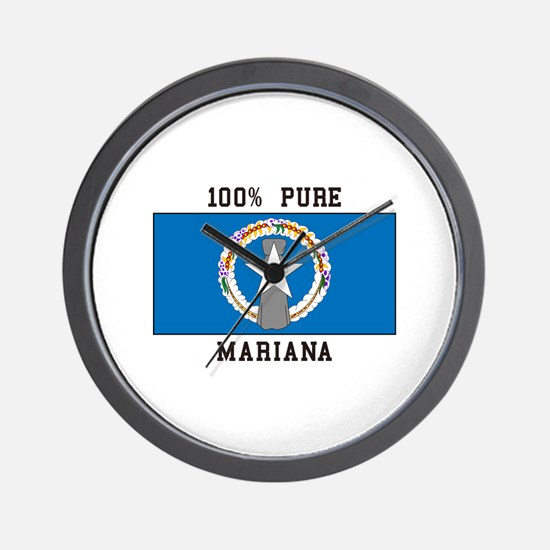 Northern Mariana Islands Wall Clock