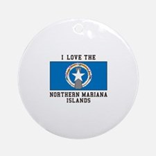 Northern Mariana Islands Ornament (Round)