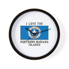 Northern Mariana Islands Wall Clock