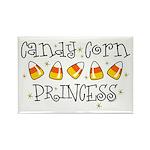 Candy Corn Princess Rectangle Magnet