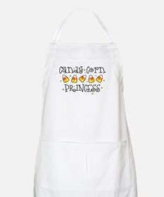 Candy Corn Princess BBQ Apron