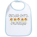Candy Corn Princess Bib