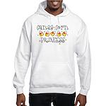 Candy Corn Princess Hooded Sweatshirt