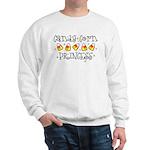 Candy Corn Princess Sweatshirt