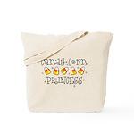 Candy Corn Princess Trick or Treat Bag