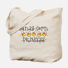 Candy Corn Princess Trick or Treat Bag