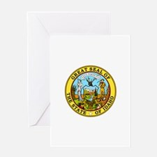 Idaho State Seal Greeting Cards