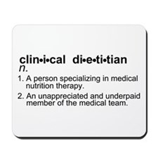 Clinical Dietitian Mousepad