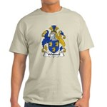 Whitwell Family Crest Light T-Shirt