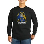 Whitwell Family Crest Long Sleeve Dark T-Shirt