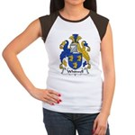 Whitwell Family Crest Women's Cap Sleeve T-Shirt