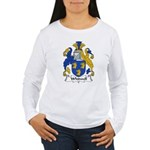Whitwell Family Crest Women's Long Sleeve T-Shirt