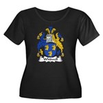 Whitwell Family Crest Women's Plus Size Scoop Neck