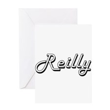 Reilly surname classic design Greeting Cards