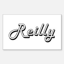 Reilly surname classic design Decal