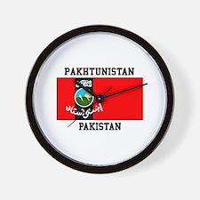 Pakhtunistan Pakistan Wall Clock