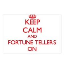 Keep Calm and Fortune Tel Postcards (Package of 8)