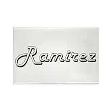 Ramirez surname classic design Magnets