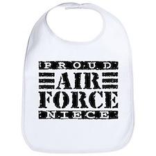 Proud Air Force Niece Bib