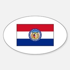 Missouri flag Decal