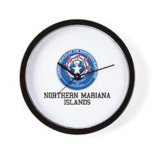 Northern Mariana Territory Wall Clock