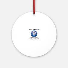 Northern Mariana Territory Ornament (Round)