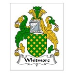 Whitmore Family Crest Small Poster