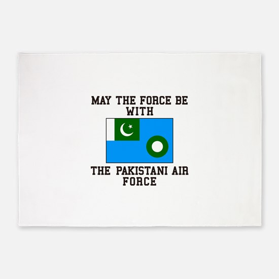 Force with be the Pakistani Air 5'x7'Area Rug