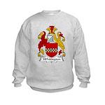 Whitington Family Crest Kids Sweatshirt