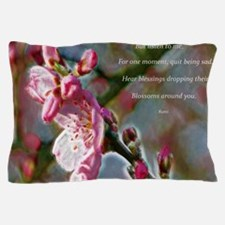 Poem from Rumi Pillow Case