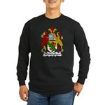 Whitingham Family Crest Long Sleeve Dark T-Shirt