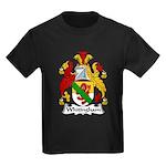 Whitingham Family Crest Kids Dark T-Shirt