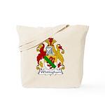 Whitingham Family Crest Tote Bag