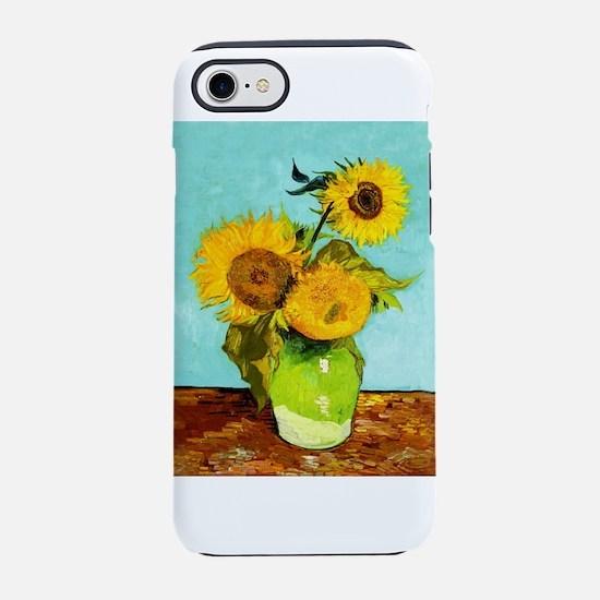 Vincent Van Gogh Three Sunflow iPhone 7 Tough Case