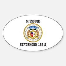 Missouri Statehood Decal