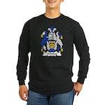 Whiting Family Crest Long Sleeve Dark T-Shirt