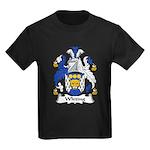 Whiting Family Crest Kids Dark T-Shirt