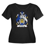 Whiting Family Crest Women's Plus Size Scoop Neck