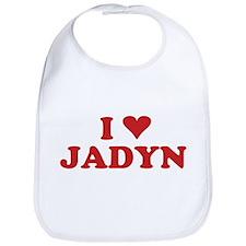 I LOVE JADYN Bib