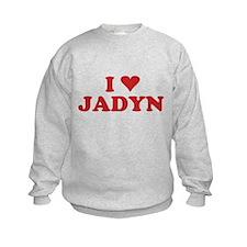 I LOVE JADYN Sweatshirt