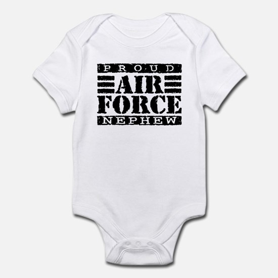 Proud Air Force Nephew Infant Bodysuit